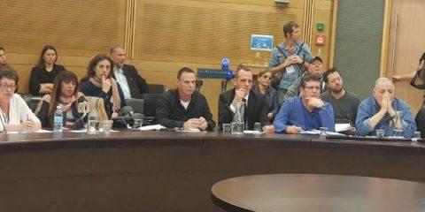 עורך דין אוהד שמואלי במהלך דיון בכנסת